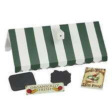 "18"" Doll Farm Stand Roof & Sign Sets For Our Interchangeable Shoppe Counter"
