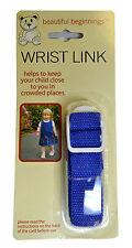 Adjustable Children Walking Wrist Link Baby Toddler Safety Rein Harness Straps