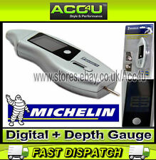 Michelin Car Digital Tyre Pressure Gauge With Tread Depth Indicator Gauge 12284