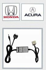 Honda iPod iPhone Aux Select 2003-2011 Accord Civic CRV Fit Pilot Pilot Adapter