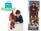 MARVEL AVENGERS ASSEMBLE IRON MAN FIGURE - TITAN HERO SERIES BY HASBRO NEW