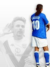 POSTER ROBERTO BAGGIO CODINO BRESCIA MILAN JUVE INTER SOCCER FOOTBALL CALCIO #1