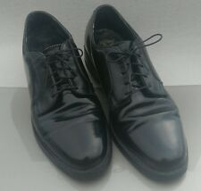 VGC FLORSHEIM BLACK LEATHER OXFORD / 8D MEN'S / Brogues / Shell / Imperial / 8 D