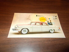 1955 Dodge Custom Royal 4-Door Sedan Advertising Postcard