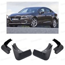 4Pcs Mud Flaps Splash Guard Fender Mudguard for 2014 2015 2016 Mazda 3 Sedan