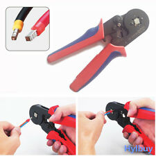 AWG23-10 Adjustable Ratcheting Ferrule Crimper Pliers tool HSC8 6-4A 0.25-6mm²