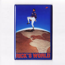 RICK SUTCLIFFE / RICK'S WORLD - POSTER MAGNET (nike costacos chicago cubs jersey