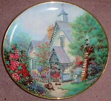 Franklin Mint Lilliput Lane Collector Plate THE GABLES