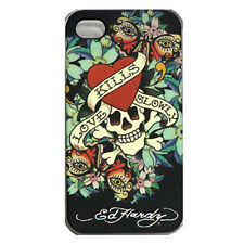 Original Nuevo Ed Hardy Snap On posterior Tatoo faceplace Iphone 4 4s amor mata lentamente