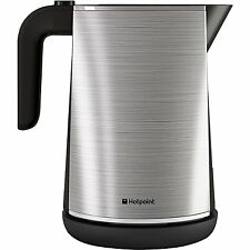 New Hotpoint WK30MAX0 Stainless Steel Jug Kettle 1.7L 3Kw
