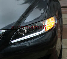 Headlights with LED DRL and Bi-xenon Projector For 2004-2011 Mazda 6