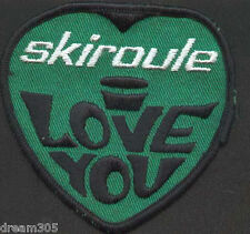 Vintage 1970s SKI ROULE SKIROULE Snowmobile Sled Patch
