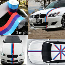 DIY For BMW Flag Auto Waist Line Hood Sicker Decal Vinyl Car Stickers 1M