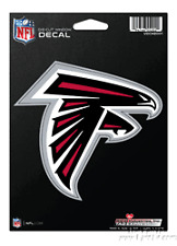 "Atlanta Falcons 5"" Flat Vinyl Die Cut Decal Sticker Emblem Football"