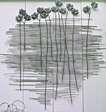 Bare roots metal wall art