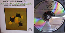 Getz/ Gilberto 2- Live at Carnegie Hall- VERVE 1993- Made in Germany- lesen