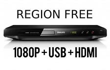 Philips DVP2880 DVD Player Multi Region Code Free 0 region HDMI 1080P Upscaling