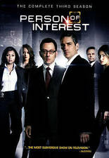 Person of Interest: The Complete Third Season (DVD, 2014)