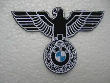 Aufnäher Patch BMW Adler Racing Motorsport Tuning Autocross Biker Bügelbild