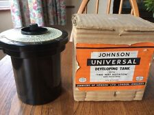 Vintage Johnson Universal Developing Tank & 2 Way Agitation And Roto-Feed Boxed