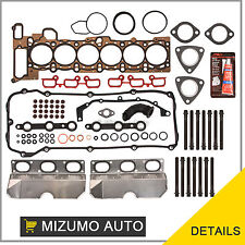Fit 01-06 BMW 325i 530i X3 X5 Z4 2.5 & 3.0 DOHC 24V M54 Head Gasket Set Bolts