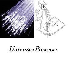 10 metri fibra ottica per cielo stellato presepe/ modellismo misura 0.75 mm