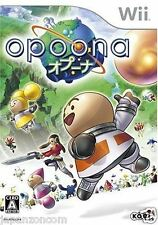 Used Wii Opoona  JAPAN JP JAPANESE JAPONAIS IMPORT
