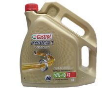 Olio Castrol Power 1 Racing 4T 10W40 - 4 litri