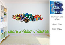 Skylanders wall sticker mural Wall Art Sticker Children's room décor large.