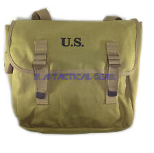 WWII WW2 US Army M36 Haversack Musette Field Bag Military Back Pack Canvas