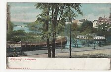 Germany, Hamburg Alsterpartie Postcard, A581