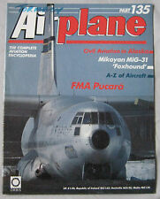 Airplane Issue 135 FMA Pucara cutaway & poster, Mikoyan MiG-31 'Foxhound'