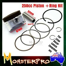 CG 250 cc PISTON RINGS KIT 67mm for Lifan zongshen Ducar Loncin 4 Stroke  Engine