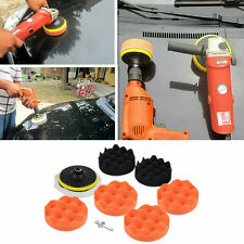 9pcs 4 inch Polishing Sponge Pad M10 Drill Adapter Kit For Car Auto Polisher