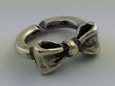 Authentic X by Trollbeads Sterling Silver Single Bow Link, 2014102004, New