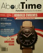 About Time Watches Rolex Patek Kobold Evolves #8 December 2014 FREE SHIPPING