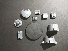 Warhammer 40k Tau Fire Warriors DS8 Tactical Support Turret w/ all Bits