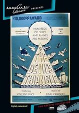 THE DEVIL'S TRIANGLE (Vincent Price) - Region Free DVD - Sealed
