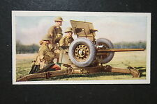 British Army  Anti-Tank Gun and  Crew  1930's Vintage Picture Card  VGC