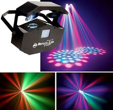 American DJ reflex Pulse twin scanner strobe double effet d'éclairage LED Disco DJ