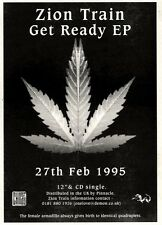 """4/3/95PGN06 EP ADVERT 7X5"""" ZION TRAIN : GET READY"""