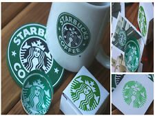 Beautiful Starbucks Crystal Glass Stamp Cute Coffee PaperCraft Stationary Supply