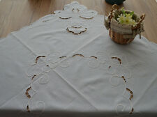 "36"" Square Table Runner French Country Sky Blue"