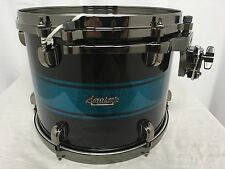 "Tama Starclassic Bubinga 13"" Diameter X 10"" Deep Tom/Blue Sparkle Racing Stripe"