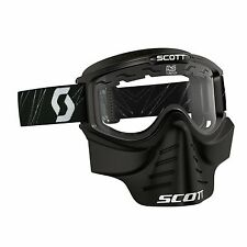 SCOTT 2016 MASCHERINA OCCHIALE GOGGLE 83X SAFARI FACEMASK MOTO CROSS VINTAGE