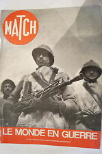 WW2 French Match Le Monde En Guerre Vol 2 Stalingrad Russia Reference Book