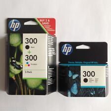 HP No 300 2 x negro & 1 x Color Original OEM Inkjet Para HP F4583