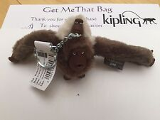 Kipling Mom/Mother and Baby Monkey Keyring JUNE - SOFT RAINY DAY Spring 17