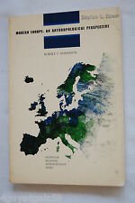 Modern Europe : An Anthropological Perspective by Robert Thomas Anderson (1973)