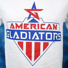 NOS vintage 80s AMERICAN GLADIATORS T-Shirt SMALL game show tv series soft thin